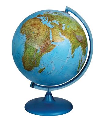 Glob pentru prescolari (duo cu sistem de iluminare prin filtre de culoare) in limba engleza