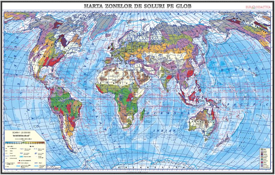 Harti Clasice Hartile Continentelor Www Hartidebirou Ro