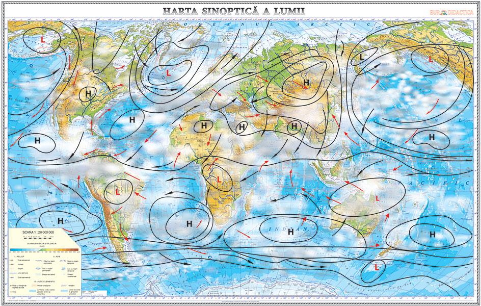 Harta Sinoptica A Lumii Www Hartidebirou Ro