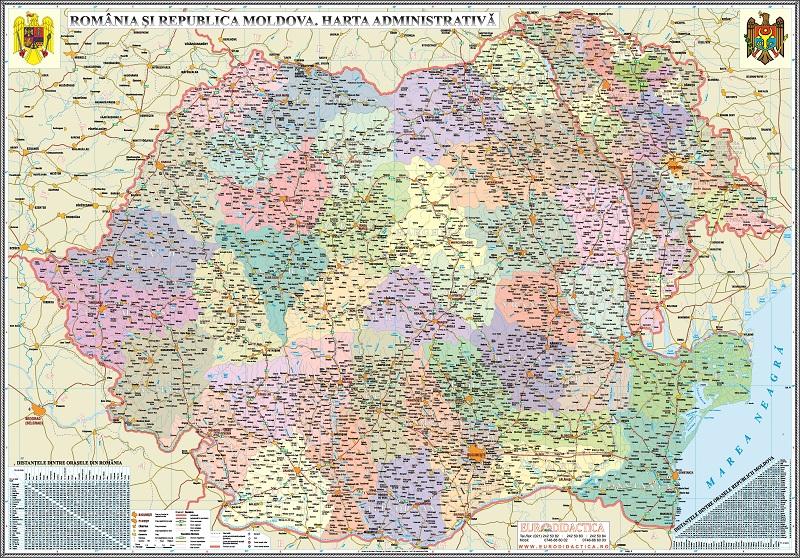 Harti 3d Romania Si Republica Moldova Harti 3d Www